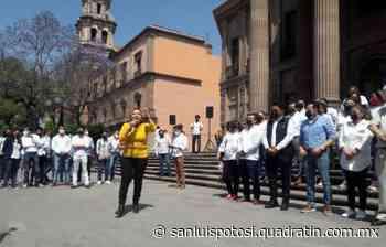 Enrique Galindo, clave para que el PRD reposicione en SLP: G. Almaguer - Quadratín - Quadratín San Luis