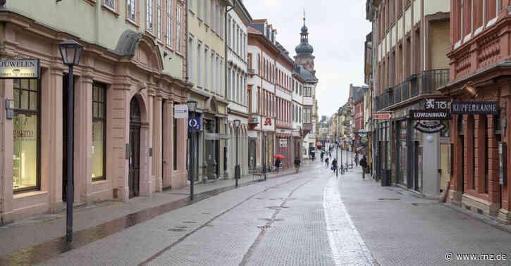 Aktion der Heidelberger Händler:  Die Läden öffnen - symbolisch