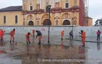 PC de San Cristóbal realiza limpieza de calles - El Heraldo de Chiapas