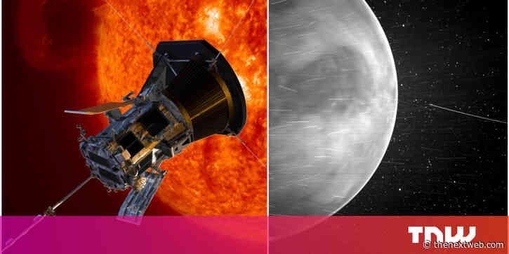 Stunning new image of Venus reveals nightglow on the planet's edge