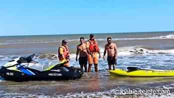 Monte Hermoso: Prefectura rescató a tres kayakistas que eran arrastrados por el mar - Telefe Bahia Blanca