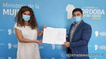 Municipio firmó el convenio para constituir 'Punto Mujer' en Capilla del Monte - La Jornada Web