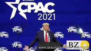 US-Konferenz: CPAC-Auftritt: Trump meldet sich mit lauwarmer Rede zurück