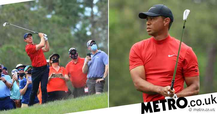 Tiger Woods makes first comment since car crash to thank players for 'touching' red shirt tributes