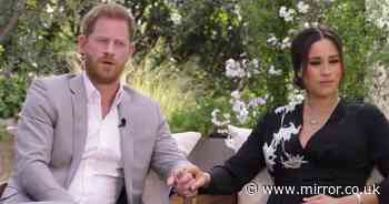 Pregnant Meghan Markle sits in silence in tell-all Oprah Winfrey interview clip