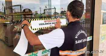 Hipermercado de Frutal é interditado após descumprir decreto municipal - Estado de Minas
