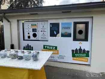 Essonne. À Montgeron, un automate de tri remplace les déchets par des chèques cadeau - actu.fr