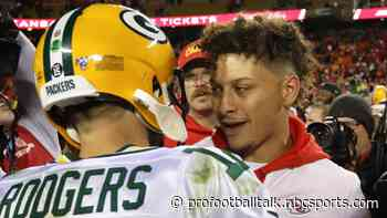 A 17-game schedule likely means Aaron Rodgers vs. Patrick Mahomes in 2021
