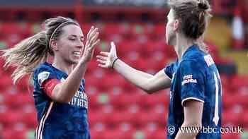 Aston Villa 0-4 Arsenal: Miedema, Nobbs, McCabe & Evans score