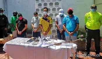 Capturan 5 integrantes banda en Puerto Boyacá con antecedentes de 5 delitos - Caracol Radio