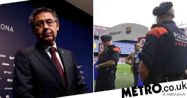 Barcelona ex-president Josep Maria Bartomeu arrested over 'Barcagate' smear controversy
