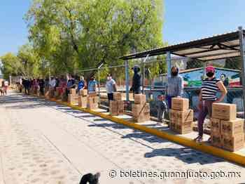 Fortalecen la Alimentación de las Familias Vulnerables de las Comunidades de Tarimoro, Valle de Santiago y Apaseo el Alto. - Noticias Gobierno del Estado de Guanajuato