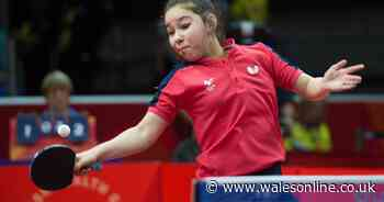 Table tennis prodigy from Wales forced to abort training camp in China