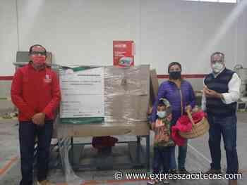 Lleva SNE maquinaria y equipo a nuevas empresas de Sombrerete - Express Zacatecas