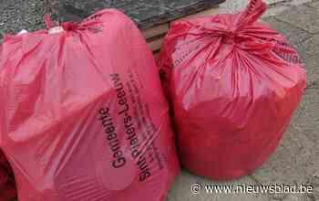 Ruilsysteem voor oude vuilzakken
