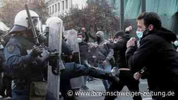 Gewalttätige Proteste: Griechenland debattiert um Terroristen im Hungerstreik