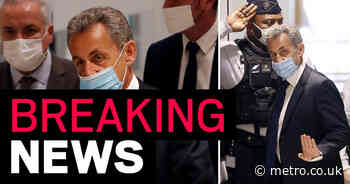 Former French president Nicolas Sarkozy jailed a year for corruption