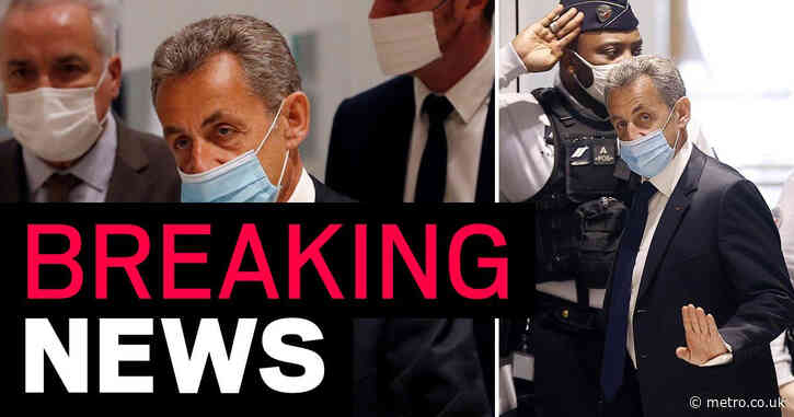 Former French president Nicolas Sarkozy jailed for a year for corruption