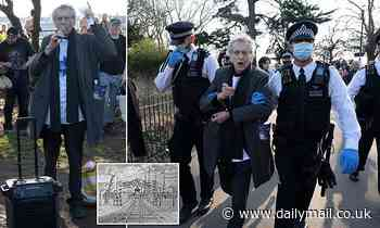 Piers Corbyn hit with 10 charges of breaking lockdown regulations