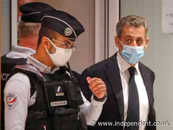 Nicolas Sarkozy sentenced to prison in historic corruption trial of former French president