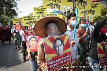 Aung San Suu Kyi seen in public for first time since military coup as more charges added