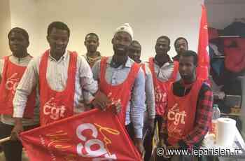 Chevilly -La-Queue-en-Brie : les travailleurs sans-papiers obtiennent gain de cause - Le Parisien
