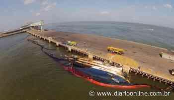 """Retirada do navio """"Haidar"""" vai ocupar porto de Vila do Conde por cinco meses - DOL - Diário Online"""
