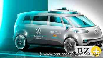 Der ID.BUZZ von VW kommt ohne Fahrer klar