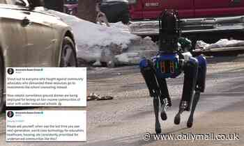 AOC slams NYPD's $75,000 robotic police dog named Digidog as racist
