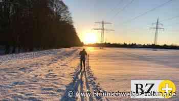 Bewegung im Schnee - Braunschweiger in ihrem Element