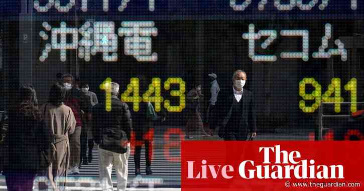 Global stocks bounce back; UK and US factories suffer supply-chain woes  – business live