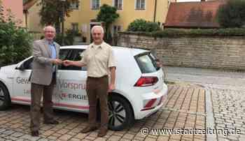 E-Mobilität in Burgsalach getestet | StaZ - Nachrichten für Augsburg & Schwaben - StadtZeitung