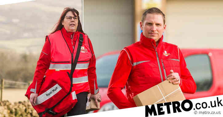 Royal Mail trials new red uniform for posties