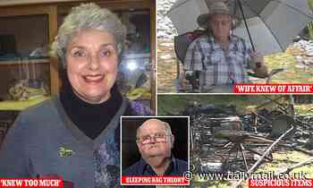 Russell Hill's friend thinks he and Carol Clay were killed in sleeping bags and eaten by dogs