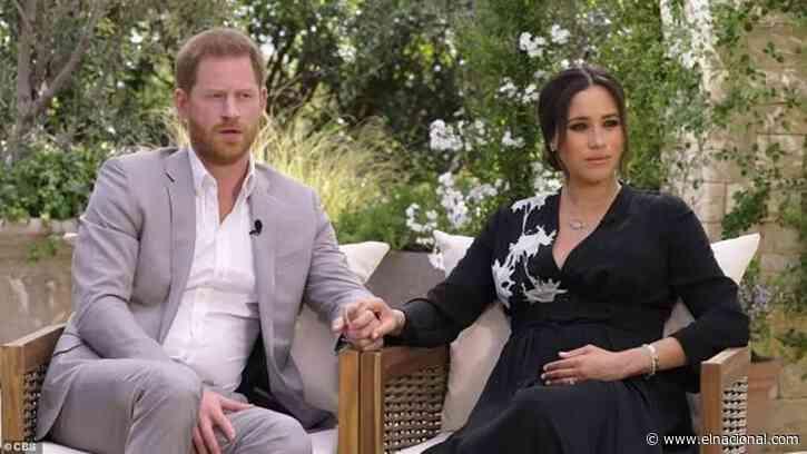 Así promocionan la entrevista de Harry y Meghan Markle con Oprah Winfrey