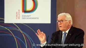 Regeln angemahnt: Steinmeier:Soziale Medien Gefahr für Demokratie