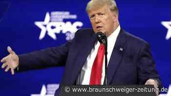 Erster öffentlicher Auftritt: Trumps Rückkehr ins Rampenlicht - Kandidatur 2024?