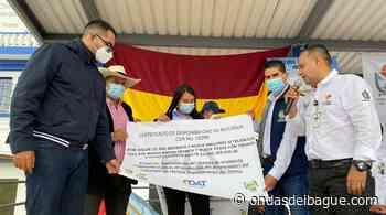 EDAT entrega recursos a Herveo para optimizar acueducto - Ondas de Ibagué