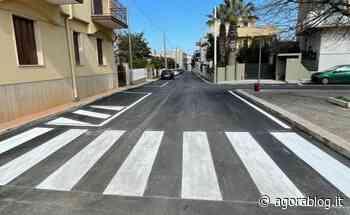 Pezze di Greco: nuovo asfalto e segnaletica per strade più sicure e più moderne - AgoraBlog