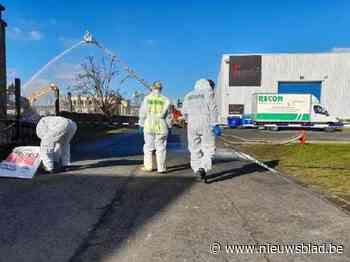 Geen asbestdeeltjes gevonden in Negenmanneke na brand in oude Michelinloods