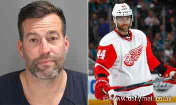 Ex-NHL star Todd Bertuzzi, 46, is arrested for DUI in Michigan after 'blowing through a red light'
