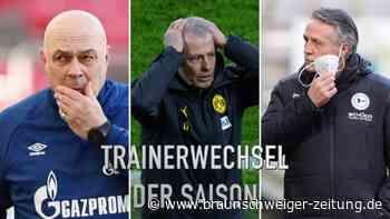Neuhaus Nummer neun: Die Trainerwechsel der Bundesliga-Saison