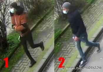Dieven op paar meter van nietsvermoedend slachtoffer aan de haal met handtas