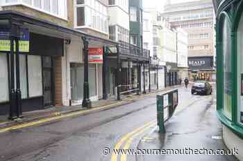 Arrest after man wields pole in Bournemouth town centre