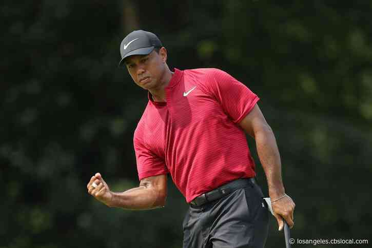 'Touching' Tribute: Golfers Don Red And Black In Honor Of Tiger Woods