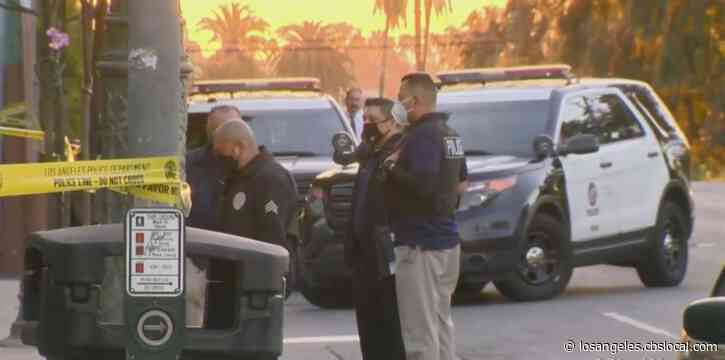 One Person Stabbed To Death In Mid-Wilshire Apartment, Suspect At Large