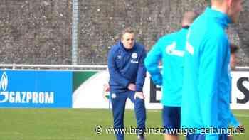 Einmalig oder öfter? Büskens leitet erstes Schalke-Training