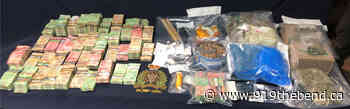 2 Arrests, Drugs And Money Seized At Shediac Homes - 91.9 The Bend