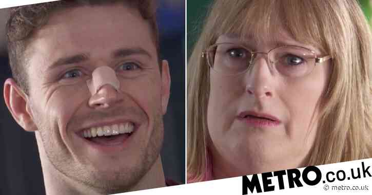 Hollyoaks spoilers: Sick George Kiss gets violent and threatens Sally St Claire in shocking scenes