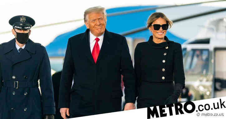Melania Trump, 50, and Donald 'both had secret Covid vaccines before leaving White House'